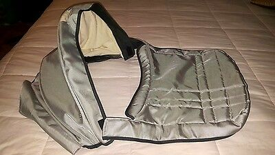 Uppababy Vista Stroller Bassinet Cover Case Canopy COVER Apron - Mica Silver