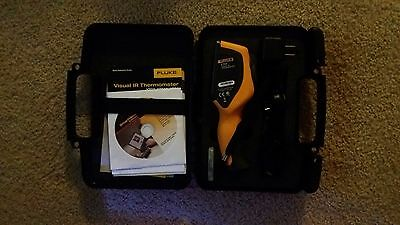 New Fluke VT04 Visual IR Thermometer - Lithium Rechargable Battery Model!