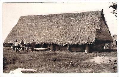 Micronesia Saipan Assembly House And Native Boat Nude South Pacific