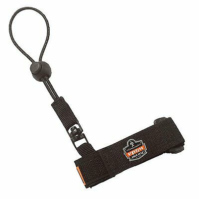 Ergodyne Squids 3115 Adjustable Wrist Tool Lanyard, Small/Medium, Black