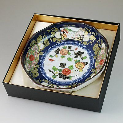 Arita Yaki Old Imari Bowl Traditional Design Dishe