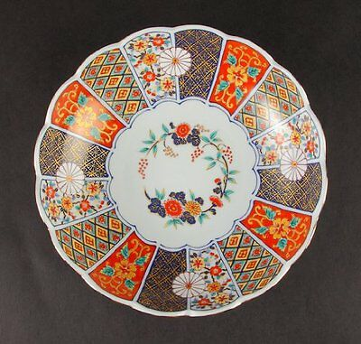 Old Imari Yaki Desgin Bowl Traditional Design Dishe