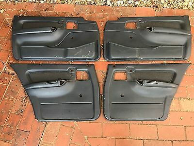 Holden Commodore Vn Vp Interior Door Trim Card Panel Blue Grey