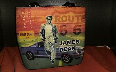 James Dean Route 66 Small Handbag /Purse