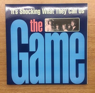 """The Game It's Shocking What They Call Us LP with 7"""" and Poster MOD FREAKBEAT"""
