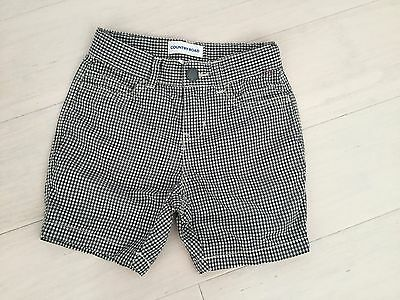 Designer Country Road Boys Shorts Size 3 Navy/white As New. Exc.cond.