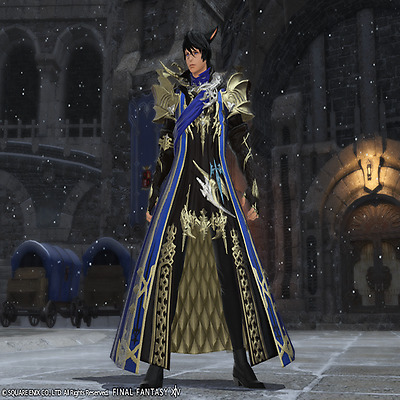 FINAL FANTASY XIV FFXIV FF14 Item Character Aymeric's Attire Code PC PS4 not gil