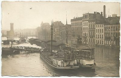 Germany 1919 -20 Rhine Floods Original Photo Postcard Ref  536