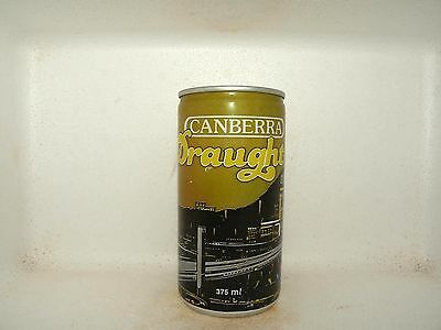 CANBERRA DRAUGHT 375ml EMPTY BEER CAN
