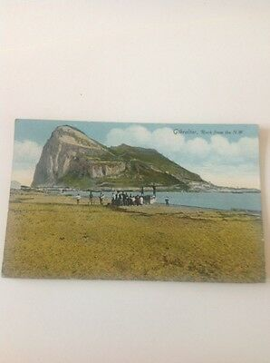Postcard Old Undated Gibraltar From N W
