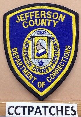 Jefferson County, Kentucky Corrections (Police) Shoulder Patch Ky