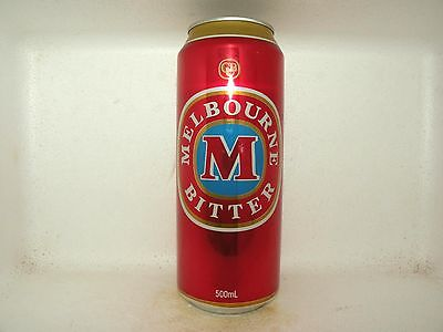 MELBOURNE BITTER 500ml EMPTY BEER CAN