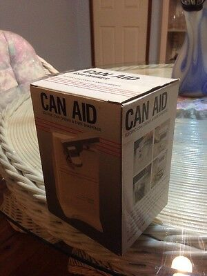 Can Aid Opener Electric & Knife Sharpener Gift