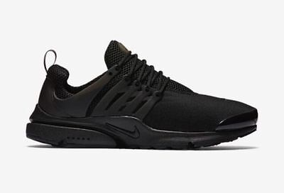 Mens Nike Air Presto Black Shoes Trainers UK Size 8