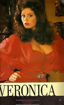 mayfair magazine volume 24 number 1 tracy neve mens adult glamour magazine