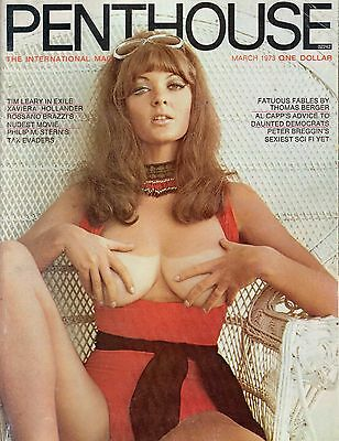 PENTHOUSE march 1973 mens adult glamour magazine