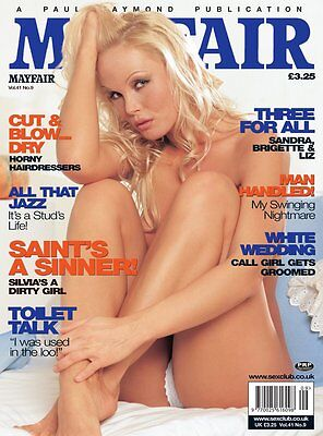 MAYFAIR MAGAZINE volume 41 number 9 mens adult glamour magazine