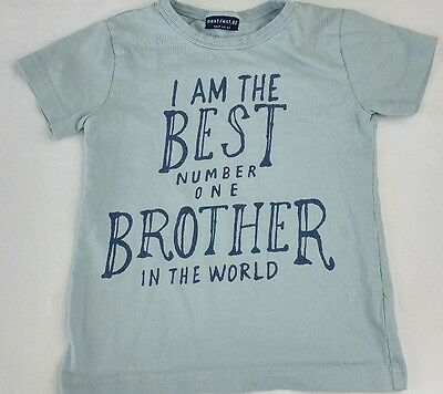 Boys Next t-shirt 18-24 months im the best big brother 1.5-2 years