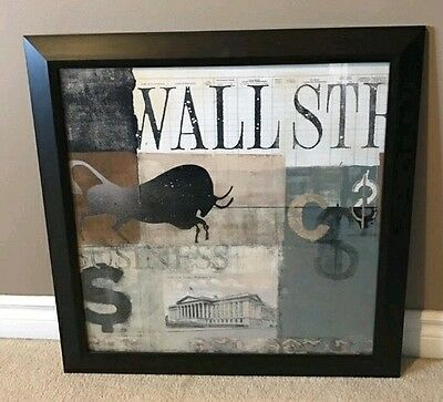Modern Wall Street Picture Frame