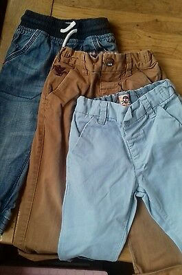 Baby Boys pants trouser Bundle 18-24 Months all Next 1.5 - 2 years