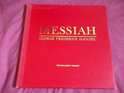 Handel Messiah -- Reader's Digest RDS 5084-6 Vinyl ----3 LP Box Set 1965
