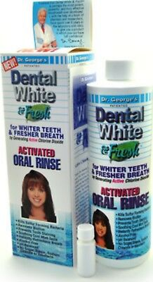 Mouthwash Mouth Rinse Teeth Whitening Tooth Whitener Breath Freshener Dr Georges
