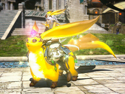 FINAL FANTASY XIV FFXIV FF14 Mount Citrine Carbuncle (Account-Wide)