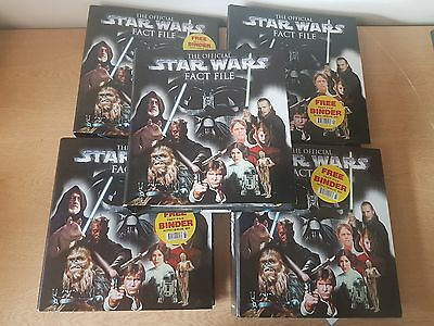 The Official Star Wars Fact file DeAgostini. - roughly issues 1-92 In 5 Binders