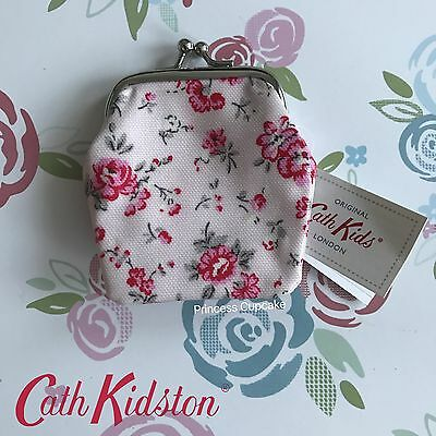 Genuine Cath Kidston KIDS Small Bramley Sprig Clasp Coin Purse - New with Tags