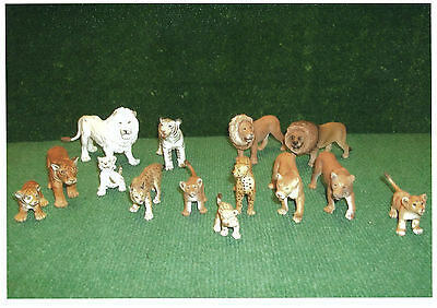 Schleich Lot De 14 Animaux De La Savane