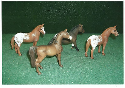 Schleich  Lot De 4 Chevaux