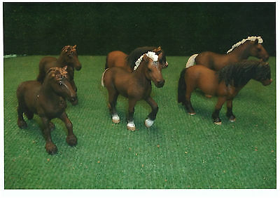 Schleich  Lot De 6 Chevaux