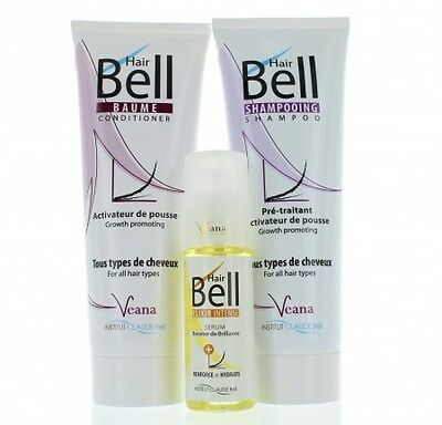 HairBell Shampoo + Conditioner + Booster Serum - Hair Jazz HairPlus HairJazz