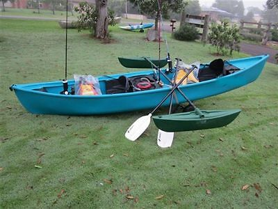 Kingfisher Canoe -2 Seater  Made by Paddle Sports Australia