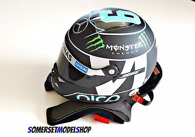 HANS Sport ll Device for 1:2 scale Helmets, Safety/display Lids models. BNIB