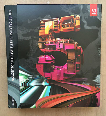 Adobe CS5 Master Collection Creative Suite Windows Englisch kein Abo,kein Ablauf