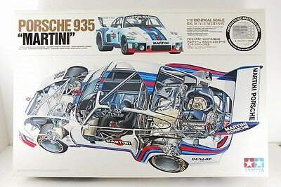Tamiya 1/12 Martini Porsche 935 Turbo Big Scale Etched Parts Included Very Rare!