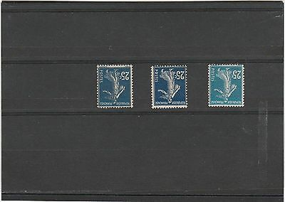 France Timbre Type Semeuse N°140 Neuf ** Luxe Gomme D'origine Mnh