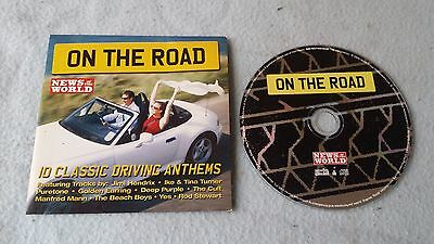 BMW Z3 News Of The World Hits Promo CD Very Rare Piece of Memorabilia