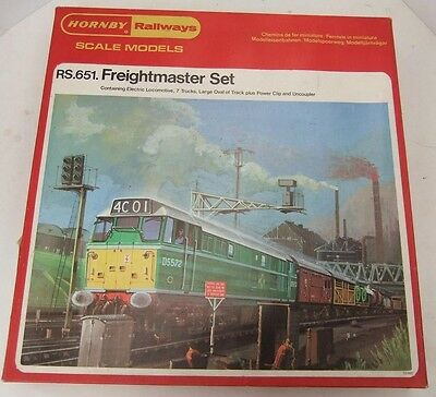 HORNBY TRI-ANG RAILWAYS RS651 BR Class 31 'The Freightmaster' Train Set (Boxed)