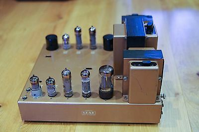 LEAK STEREO20 Vintage Tube Valve Amplifier Gold in good condition – Global ship