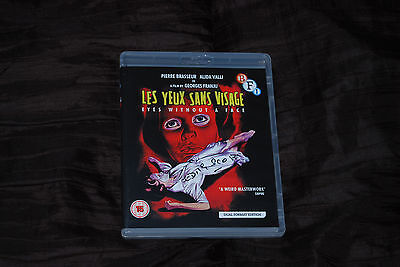 Edith Scob Signed - Rare - Eyes Without a Face - BFI Blu - Georges Franju