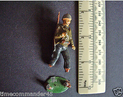 Vintage Early 1950s Charbens US Army GI. with Slung Rifle.  Damaged-Repairable.