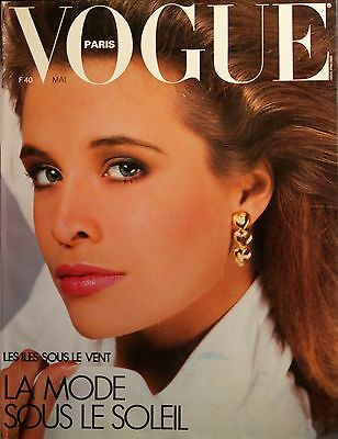 Magazine VOGUE Paris - #666 - Mai 1986