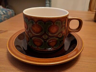 hornsea pottery bronte cup and / or saucer 1970's