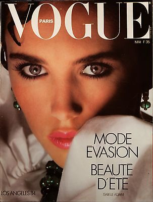Magazine VOGUE Paris - #646 - mai 1984