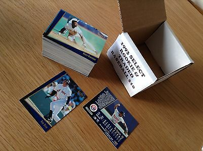 Complete Set 1993 Select Rookie And Traded MLB Baseball Trading Cards