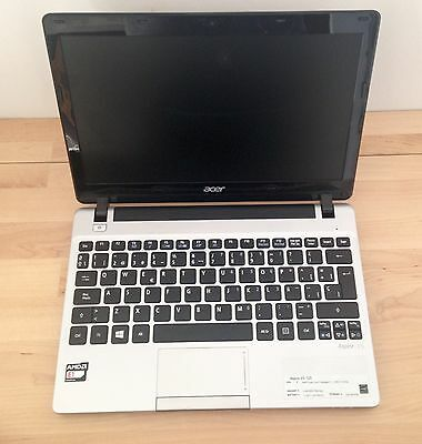 "Portátil ACER Aspire V5, 11,6"" HD, Crucial SSD 240 Gb, RAM 4 Gb, Windows 10"