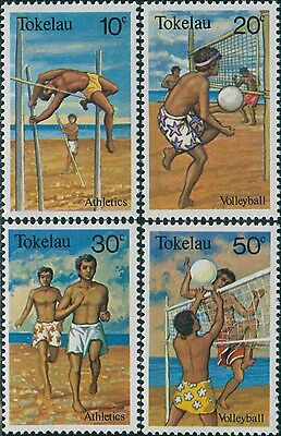 Tokelau 1981 SG77-80 Sports set MNH