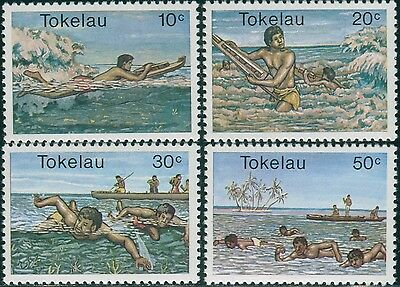 Tokelau 1980 SG73-76 Water Sports set MNH